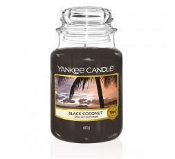 GRANDE JARRE NOIX DE COCO NOIRE / BLACK COCONUT