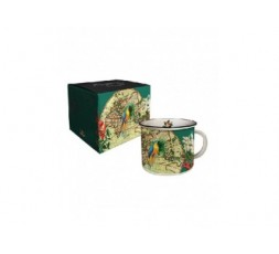 MUG TIMBALLE PERROQUET - VOYAGES
