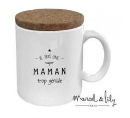 Mug - MAMAN TROP GÉNIALE