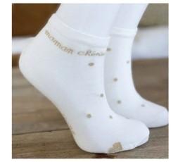 Socquette - MAMAN CHÉRIE - MILK & OR