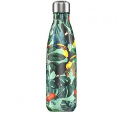 Bouteille isotherme Chilly's 500ml Tropicale Toucan