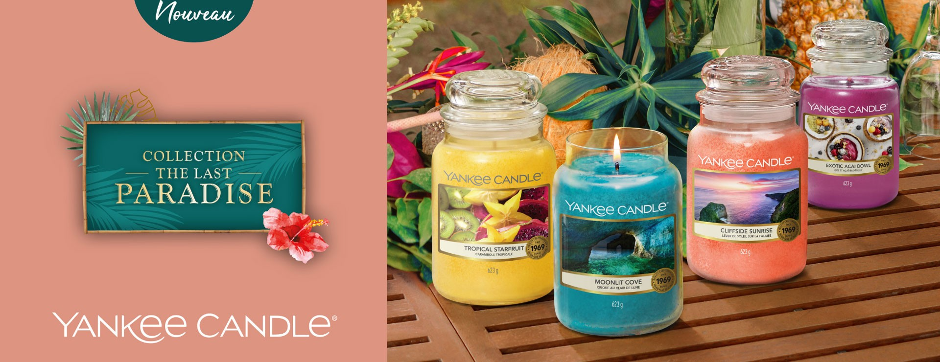 Yankee candle - Collection paradise